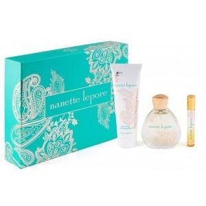 Nanette Lepore Eau De Parfum 3 Piece Gift Set
